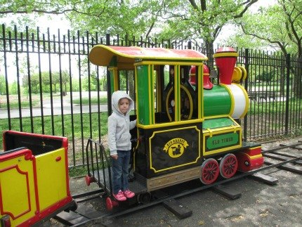 welcomed amusement park track train for kids