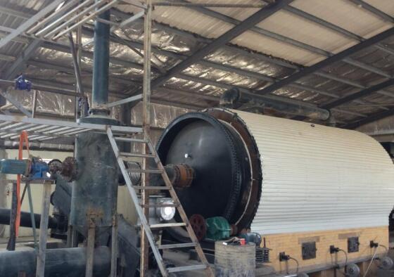 Tyre pyrolysis reactor