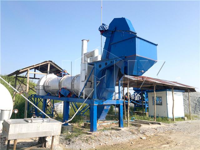 mobile asphalt drum mix plant