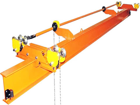 buy 1 ton overhead cranes in China