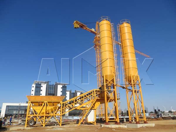 mini concrete batch plant sale