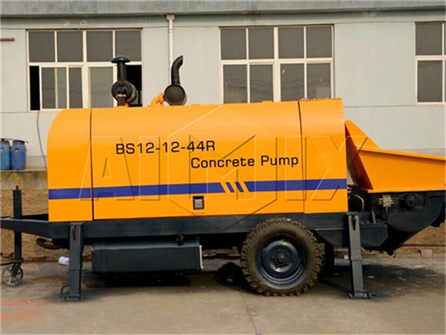 China's diesel concrete pump