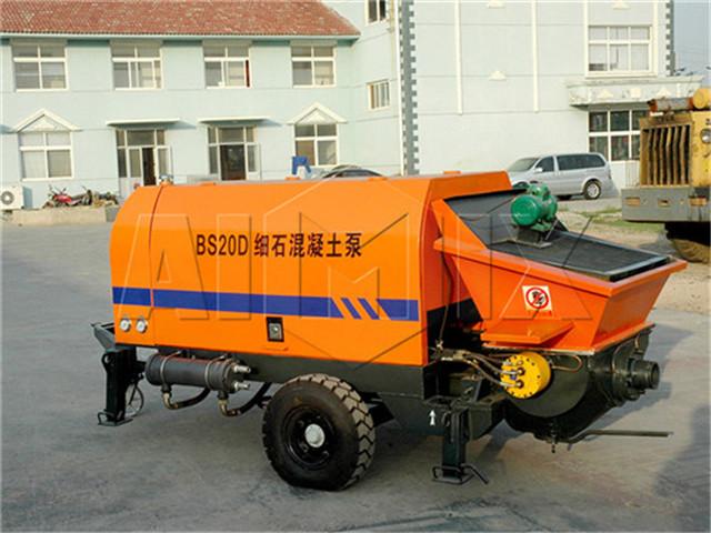 Concrete pump cost